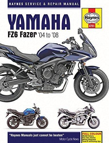Yamaha FZ6 Fazer Motorcycle Repair Manual: 04-08 (Haynes Service & Repair Manual) by Anon (2015-05-22)
