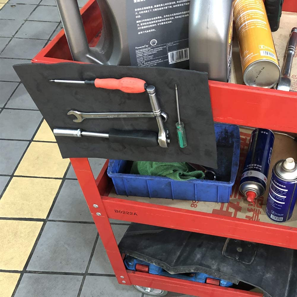 Flexible Magnetic Tool Holder While Working Repair Tool Storage Mat for Workshop Garage 11.69 x 8.27inches