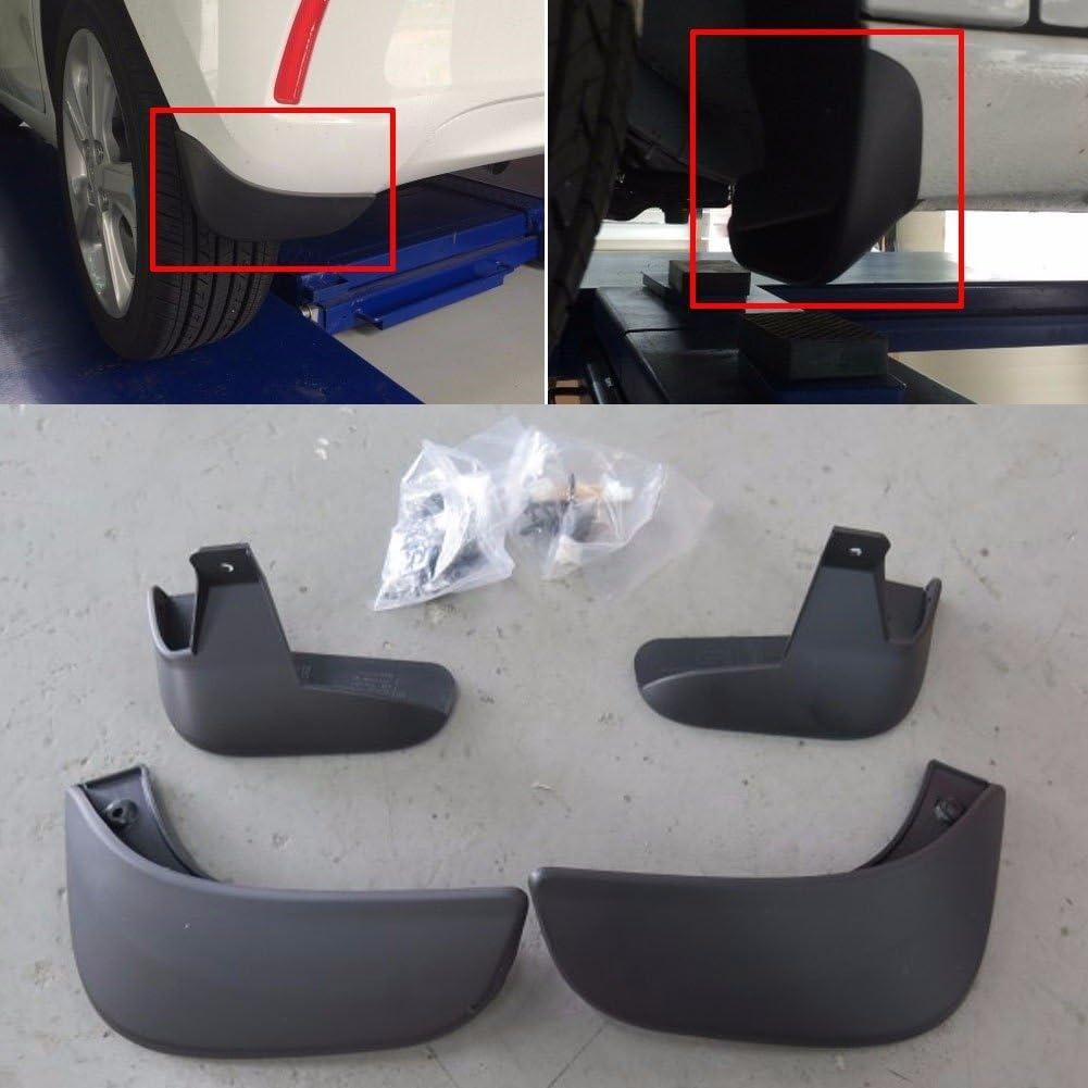 Amazon Com Chevrolet Mud Splash Guards Front Rear 4p For Gm The Next Spark 2016 Oem Parts Automotive