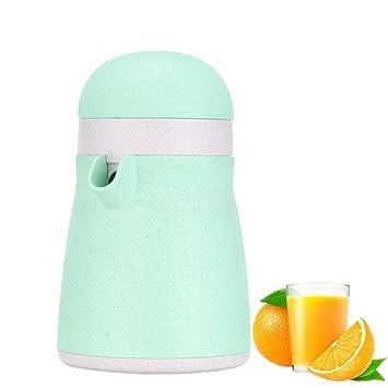 Compra Haosens Exprimidor Manual Limon con Tapa y Taza, Paja de Trigo Prensa de Mano para Limon Zumo Citricos Naranjas Frutas - Sano y Portátil en Amazon.es