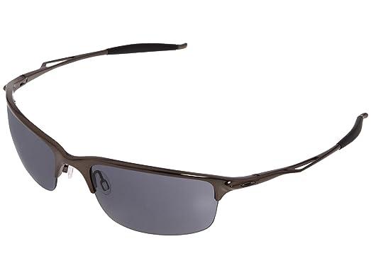 Amazon.com: Oakley Men\'s Half Wire 2.0 Sunglasses (Black Chrome ...