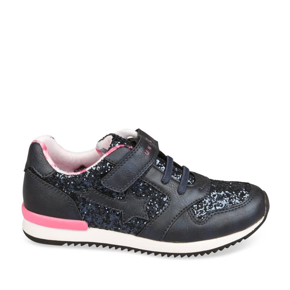 f8ba1e428feb5 Baskets BLEU UNYK Fille Chaussea  Amazon.fr  Chaussures et Sacs