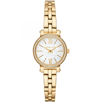 1b938e786ba2c Michael Kors Women s Analogue Quartz Watch with Stainless Steel Strap  MK3833  Amazon.co.uk  Watches
