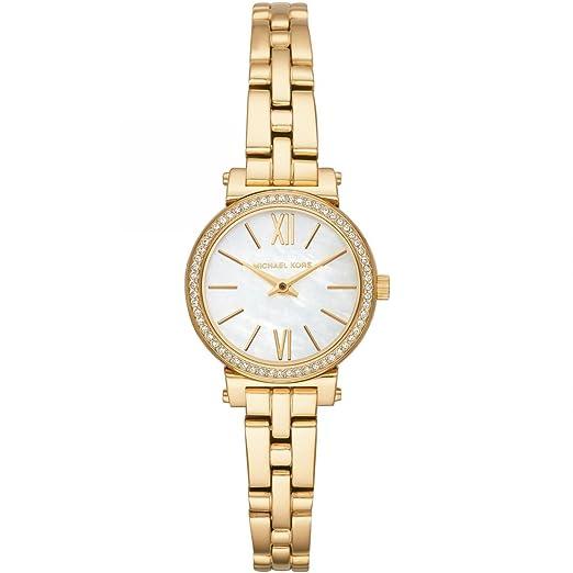 Michael Kors Reloj Analogico para Mujer de Cuarzo con Correa en Acero Inoxidable MK3833: Amazon.es: Relojes