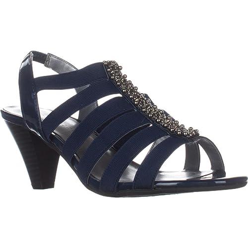 c05e819129f Karen Scott Womens Neema Open Toe Casual Ankle Strap Sandals