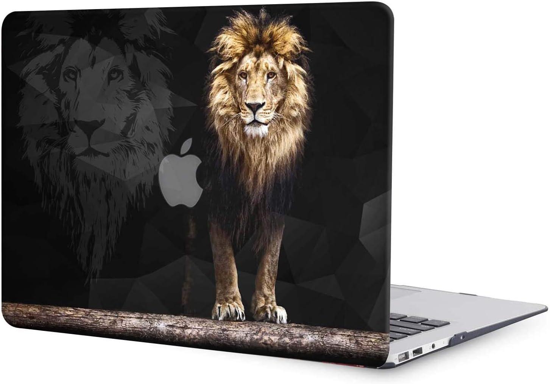 "ACJYX MacBook Pro 16 inch Case A2141, Plastic Hard Shell Cover Laptop Case for MacBook Pro 16"", Lion Pattern"