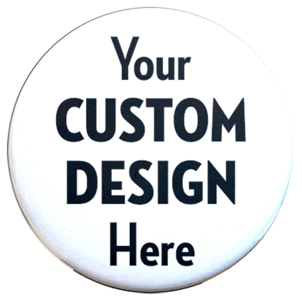 "Buttonsmith Custom Personalized Union Printed 2.25"" Magnet - Made in the USA"