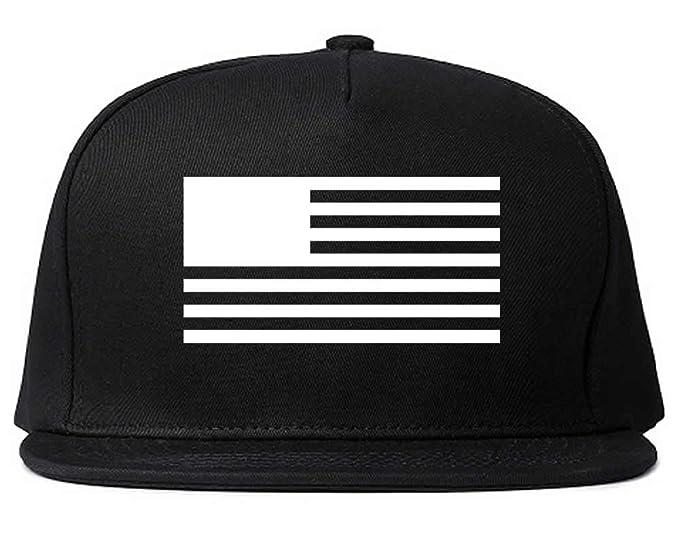 de192f443ff Kings Of NY Black Flag USA America United States Stars Stripes Snapback  Black