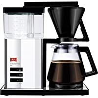 "Melitta® Aroma Signature Deluxe ""Style"" 100704: aromrik kaffebryggning med optimal temperering och modern design, krom"