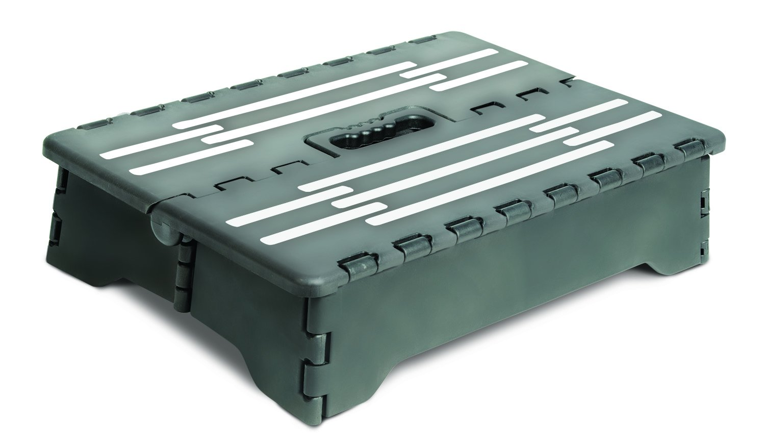 Portable Folding Step Stool by Jobar International
