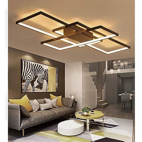 Acryl Led Deckenlampe Dimmbar Mit Fernbedienung Deckenleuchte Wohnzimmer Lampe