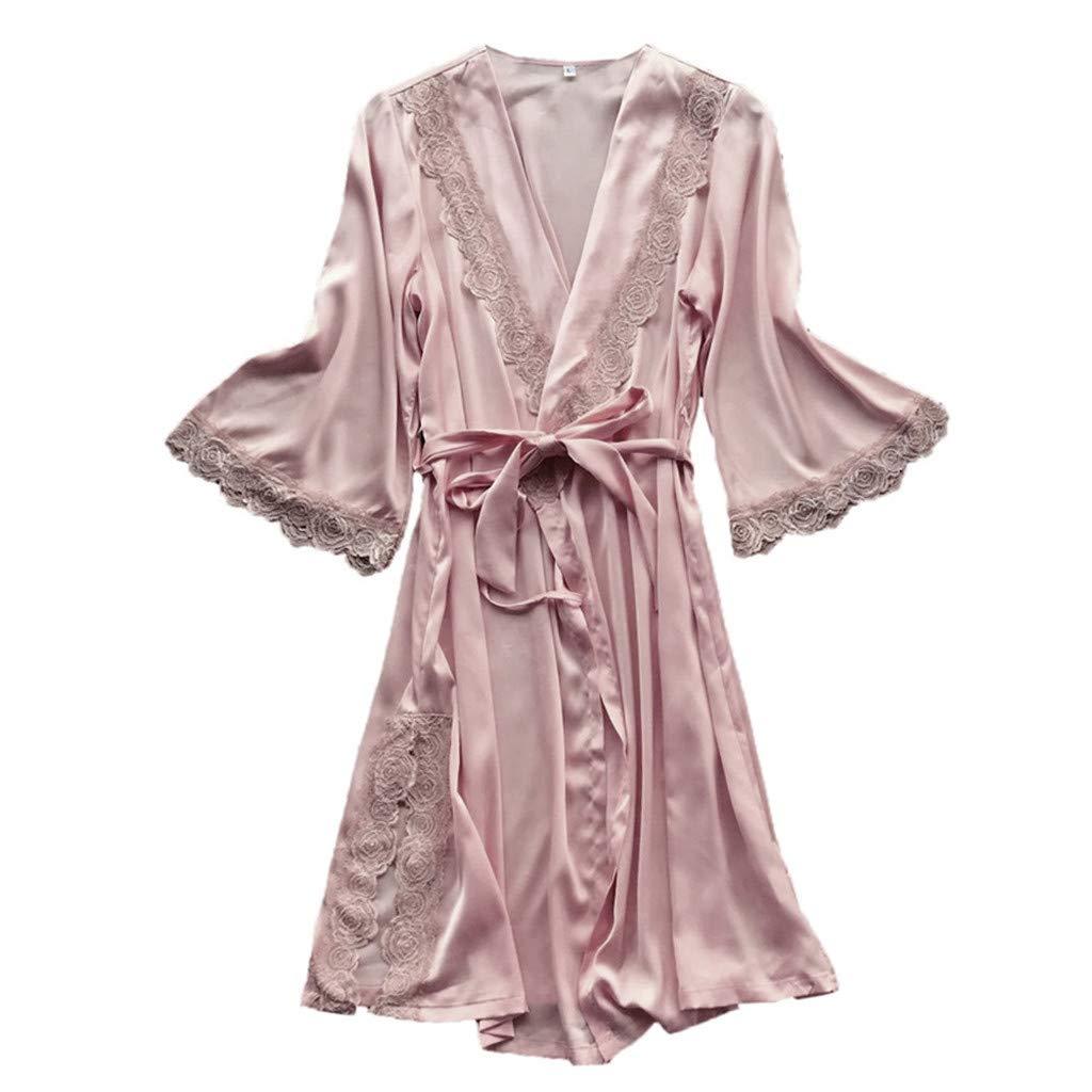 ... Mujer Erótico Lace Talla Grande Lenceria Babydoll Interior Ropa de Dormir Floral de Encaje Cuello en V Camisión Pijama: Amazon.es: Ropa y accesorios