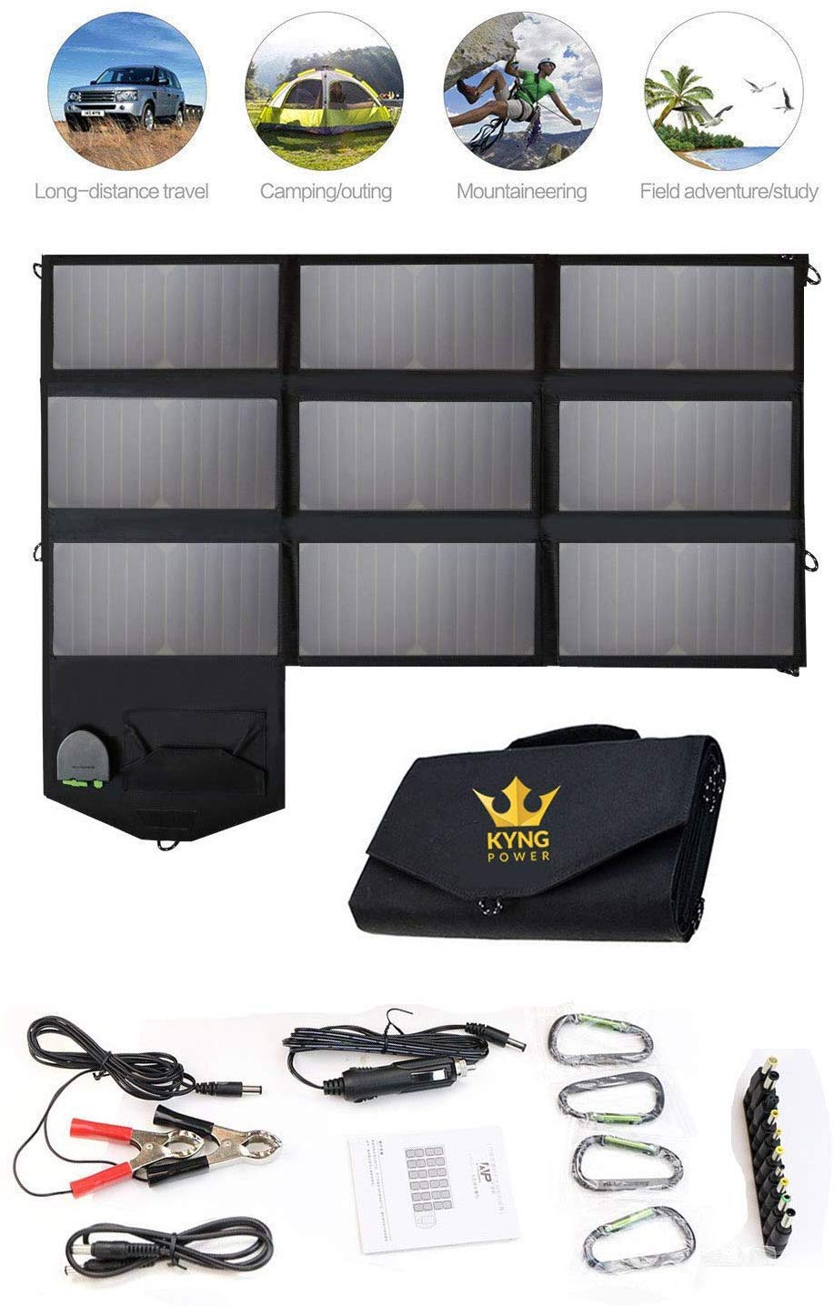 Kyng Power 60w Solar Panel Portable Power