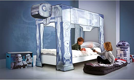 Official Star Wars At At Bed Canopy Cable Every Single Bed Frame Amazon De Küche Haushalt