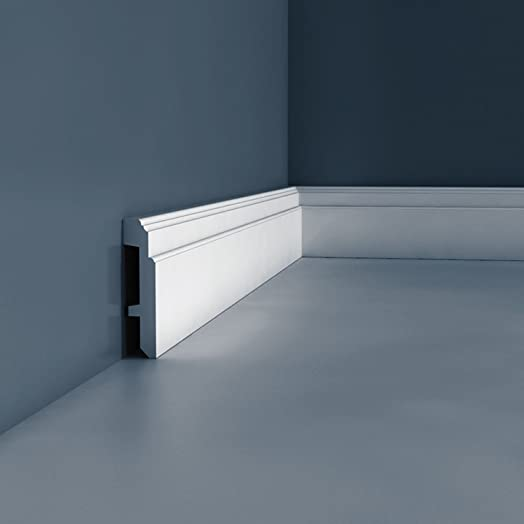 Orac Decor Sx155 Luxxus Skirting Panel Moulding 2 M: Amazon.Co.Uk