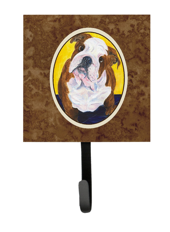 Multicolor 7Hx4.25W Carolines Treasures SS8415SH4 English Bulldog Leash Holder or Key Hook