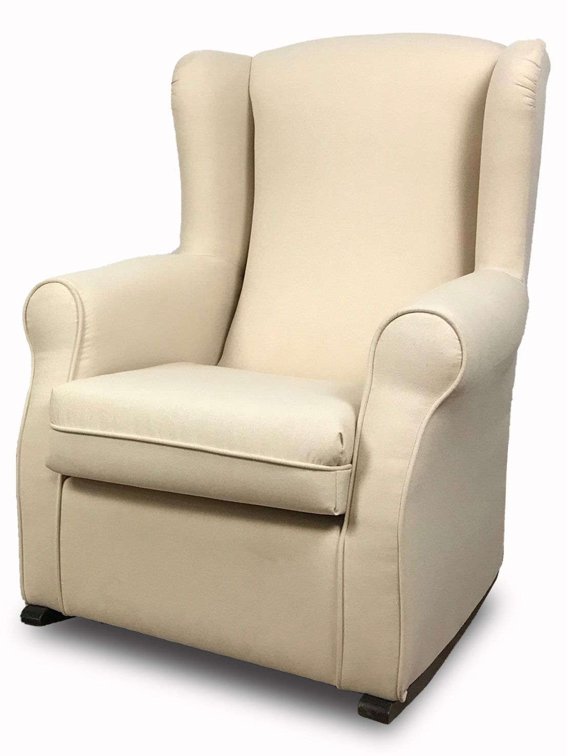 SuenosZzz-House Accent Rocking Chair. Perfect nursing chair. Upholstery fabric Grey Chenille. Measurements: 102 x 76 x 74.