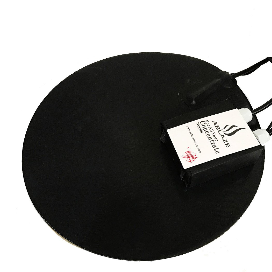 ABLAZE 12 Inch Digital Heat Pad for Glass Stainless Steel Aluminum Vacuum Chamber