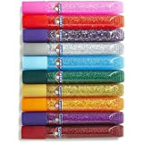 Elmer's Washable Glitter Glue, Classic Rainbow,(E199) (4-Pack of 10)