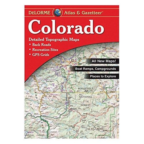 Colorado Atlas and Gazetteer - Colorado Map