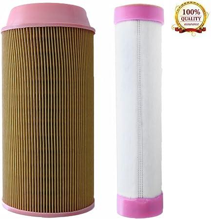 Amazon.com: hoypeyfiy exterior interior filtro de aire para ...