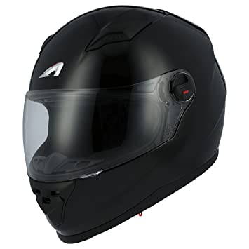 Astone Helmets gt2 m-bkxs casco Moto Integral GT Gloss, Color Negro Brillante,