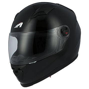 Astone Helmets gt2 m-bkxs casco Moto Integral GT Gloss, Color Negro Brillante,
