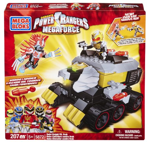 Mega Bloks Power Rangers Megaforce - Robo Knight vs. Vrak