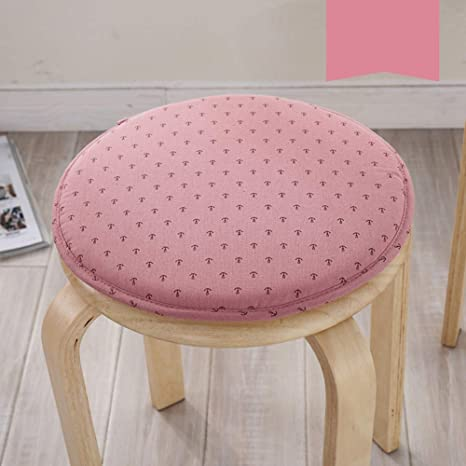 Amazon Com Warmth Sponge Round Chair Cushion Fashion Fabric Chair