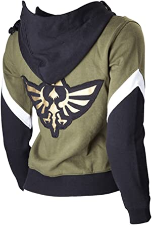 Cosplaybar The Legend of Zelda Link Hoodie Jacket Sweatshirt Sweater Costume