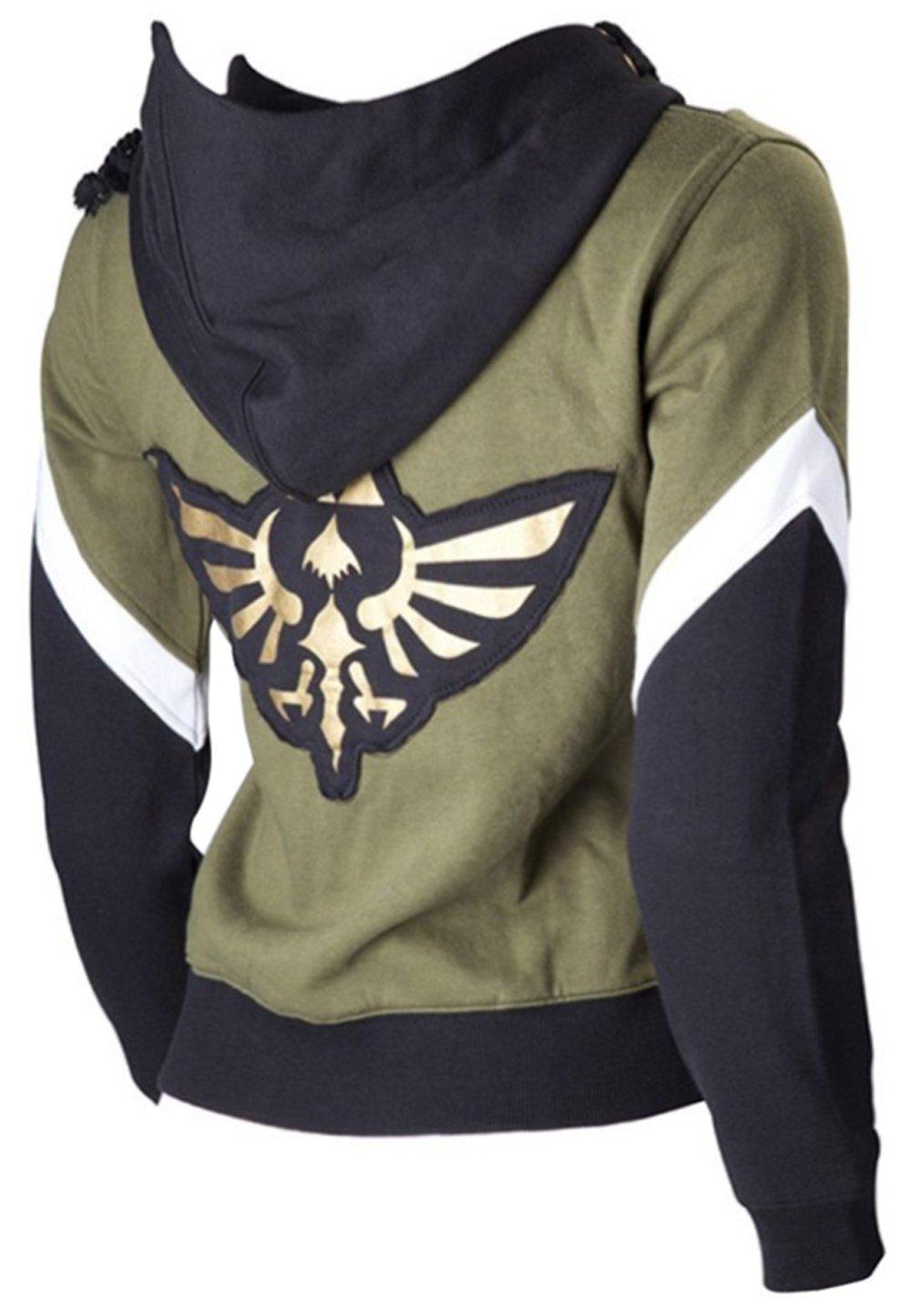 Cosplaybar The Legend Of Zelda Link Hoodie Jacket Sweatshirt Sweater Costume M