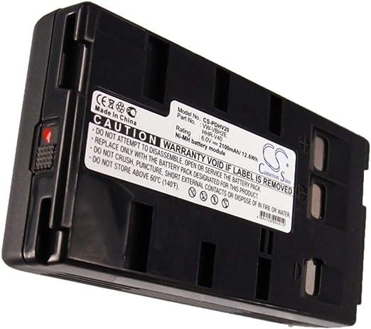 2100mAh Replacement for JVC GR-AX430U BN-V20U P//N BN-V20 GR-AX500 Battery GR-AX46U GR-AX5 GR-AX47U BN-V20US