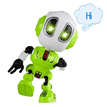 Amazon.es: ALLCELE Diversión grabación Discoteca Robot para ...