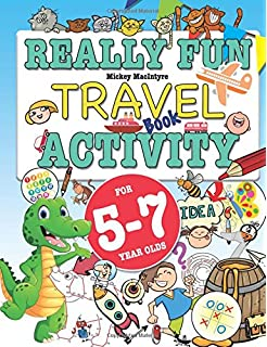 really fun travel activity book for 5 7 year olds fun educational activity - Hidden Pictures For 3 Year Olds