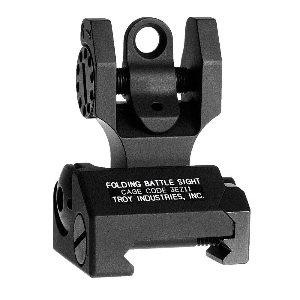 Troy Industries Folding Battle Sight Rear (Black)
