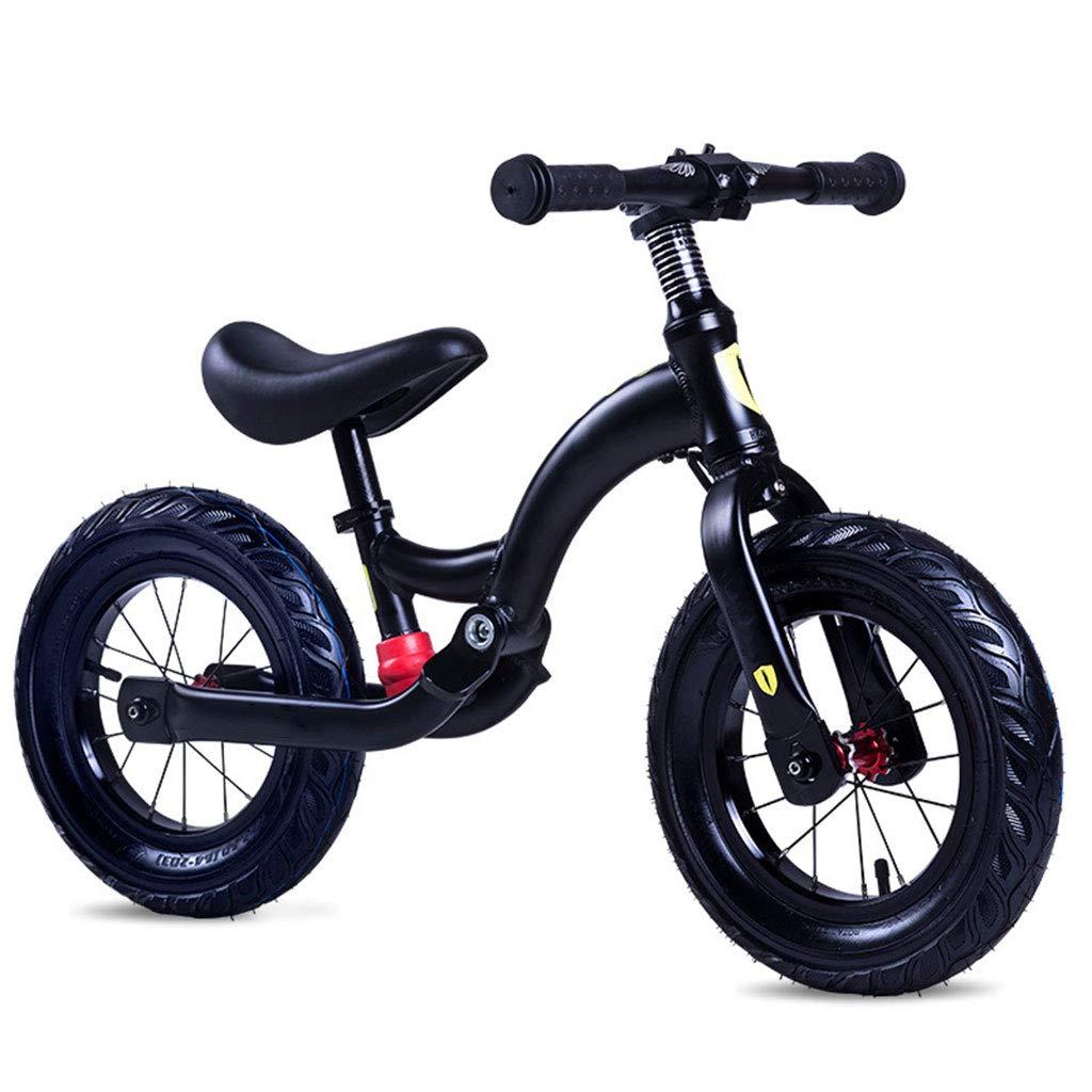 買い誠実 バランスバイク軽量マグネシウム合金ワンピース多機能耐久性丈夫快適な安全 B07PQDDD36 Black B07PQDDD36, メガネサングラスのDOURAKU:675f1a98 --- senas.4x4.lt