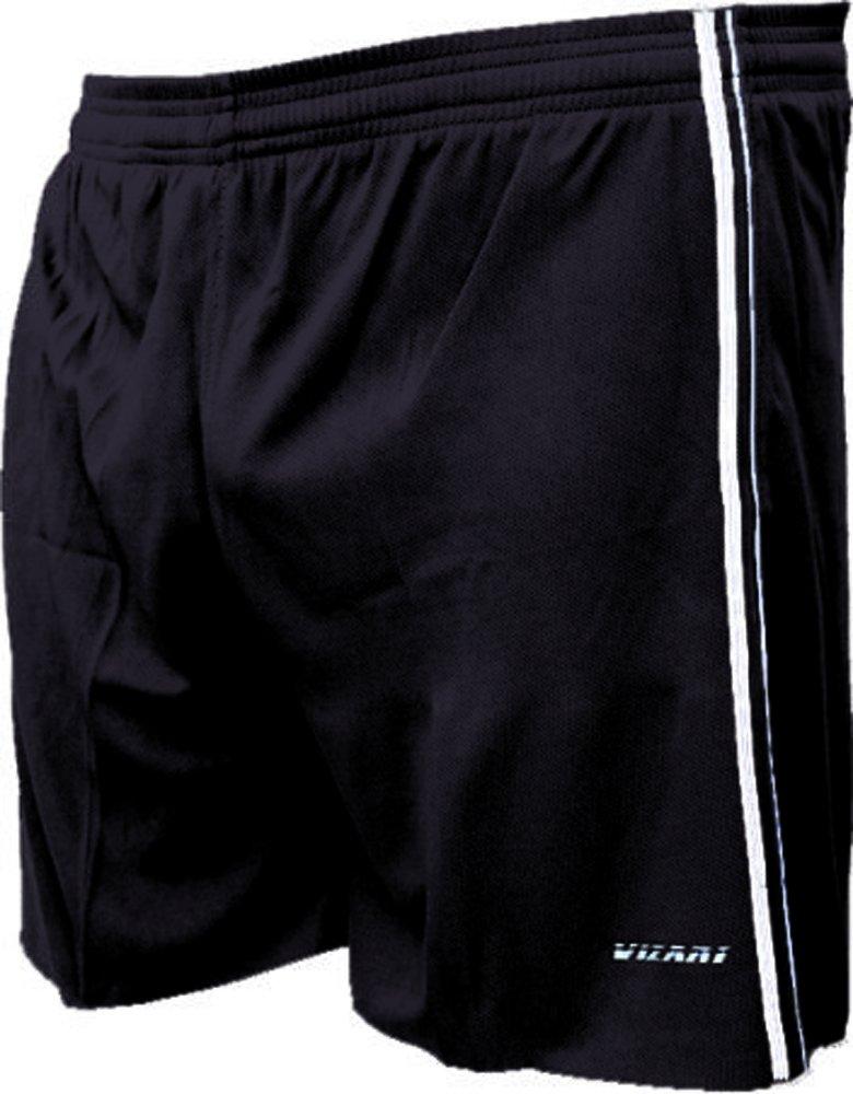 Vizari Campo Soccer Shorts B00S3L8I02 Adult Large|ブラック ブラック Adult Large