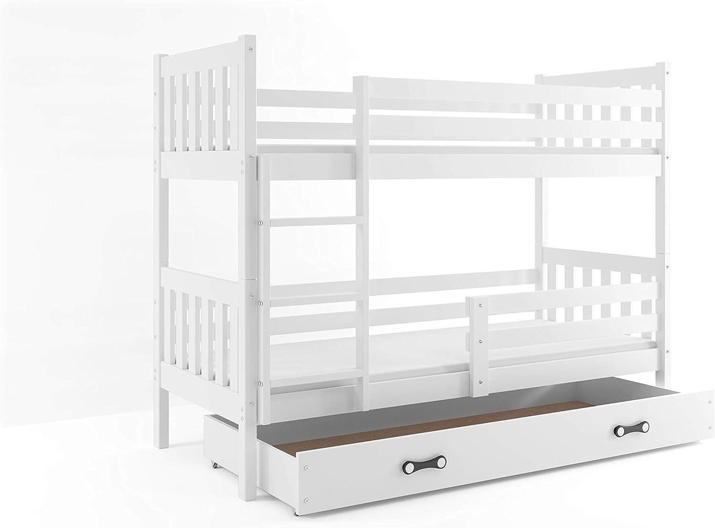 Interbeds - Litera para dormitorios infantiles y juveniles, 190 x ...