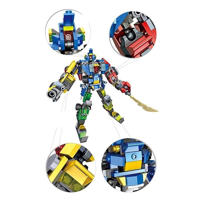 MEILA 739 uds Ocho En Uno deformación Robot de Juguete ...