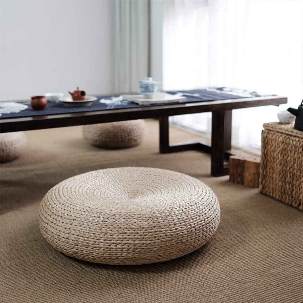 2 Stücke 12 /'/' Rustikale Bodenkissen Stroh Hocker Sitz Meditation