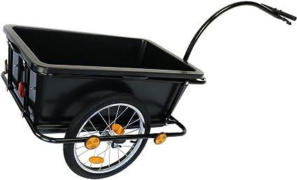 Oypla OYP3867 Carrito de Remolque para Bicicleta con Acoplamiento ...