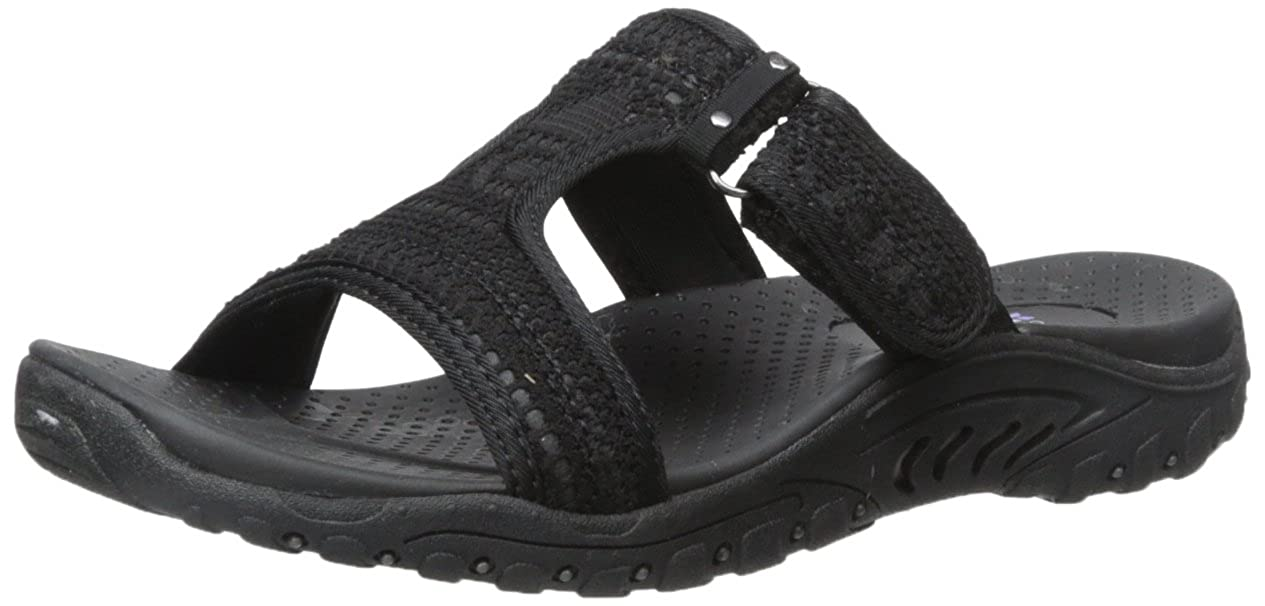 a233ca61f3f Skechers womens reggae ethnic dress sandal black jpg 1265x606 Skechers  reggae black women