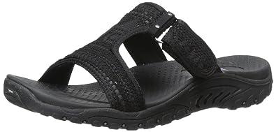 Skechers Women s Reggae T Strap Sandal Fashion Sandals at amazon