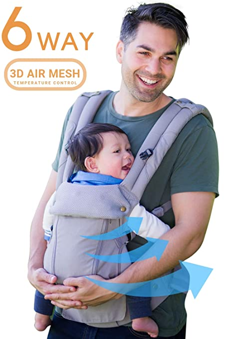 1f9fcd2e084 All Seasons 360 Ergonomic Baby Carrier - 6 Position