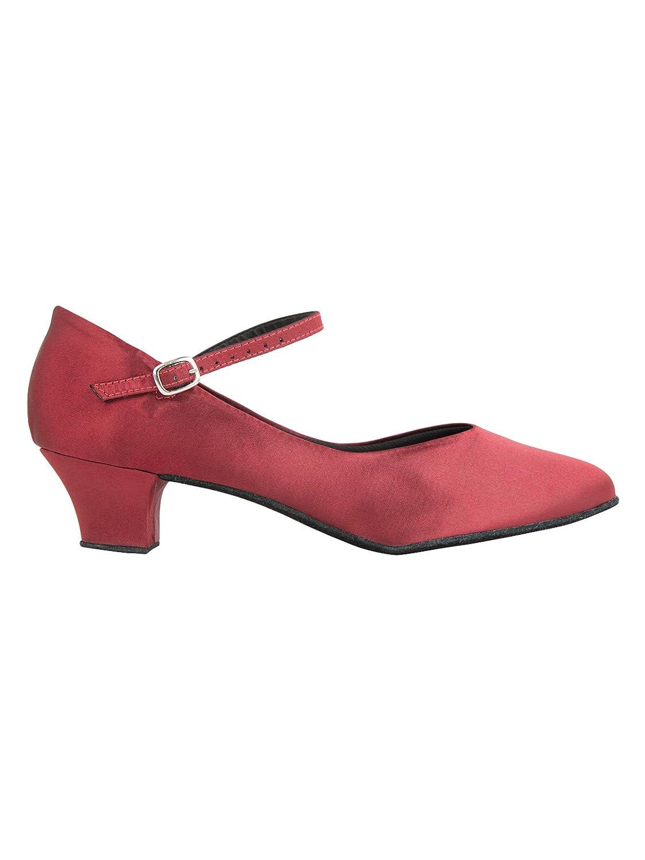 So So So Danca CH791C Latein Salsa Rumba Tango Satin Tanz Schuhe mit Chromledersohle, Weite M, Absatz 4 cm B072N596LK Tanzschuhe Neuartiges Design 88dfd0