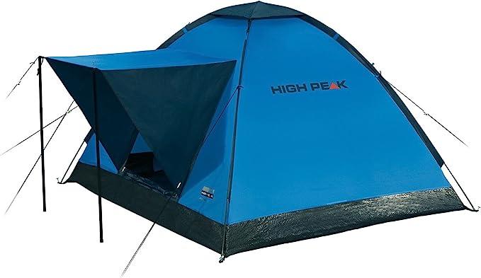 High Peak Beaver 3 Tienda, Unisex, Azul/Gris, 200 x 180 x 120 cm