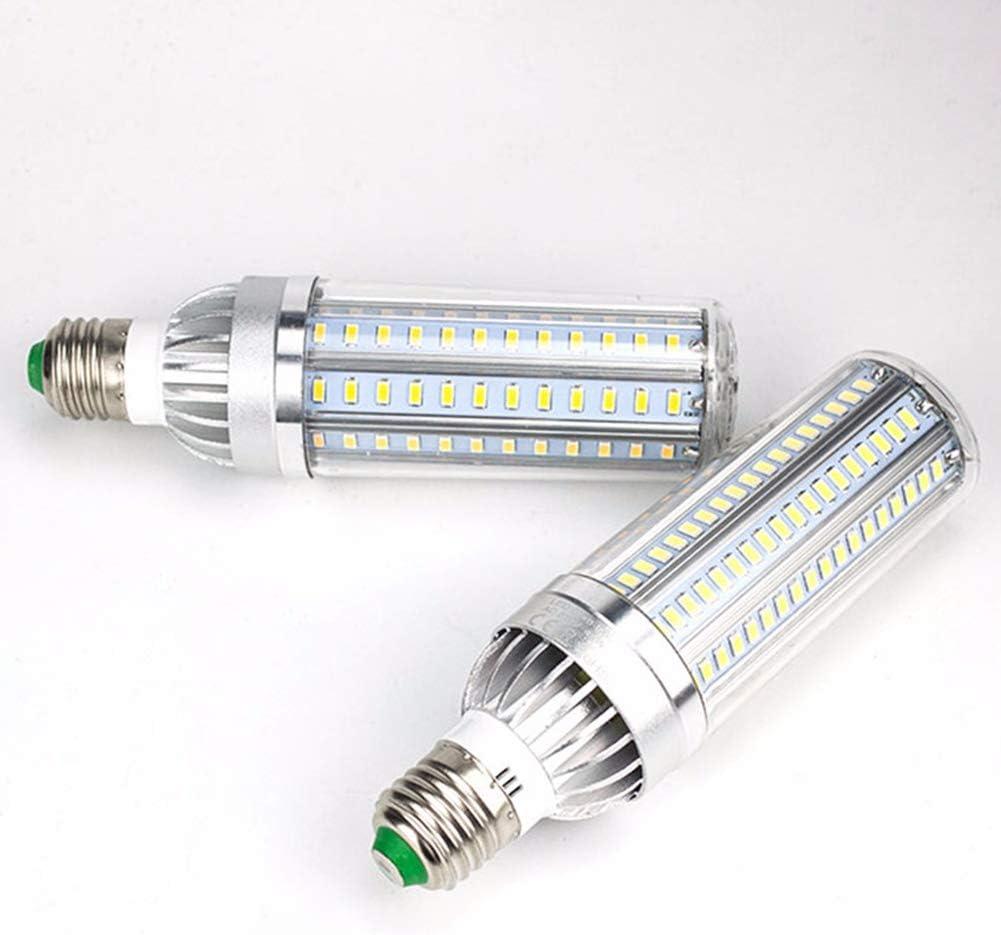 Shentesel LED Corn Shape Light Bulb Non Flicker Bright Power Saving Lamp Warm White 45w E27