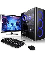 "Megaport Gaming-PC Komplett-PC Vollausstattung AMD Ryzen 3 3200G 4x 3.60GHz • Nvidia GeForce GTX1050 • 24"" LED Bildschirm Asus • Tastatur+Maus • 8 GB DDR4 2400 RAM • 1TB • Windows 10 • Gamer PC • Gaming Computer • Desktop PC"