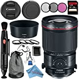 Canon TS-E 135mm f/4L Macro Tilt-Shift Lens 2275C002 + 77mm 3 Piece Filter Kit + 77mm Macro Close Up Kit + 256GB SDXC Card + Lens Cap Keeper + Lens Pen Cleaner + Deluxe Starter Kit Bundle