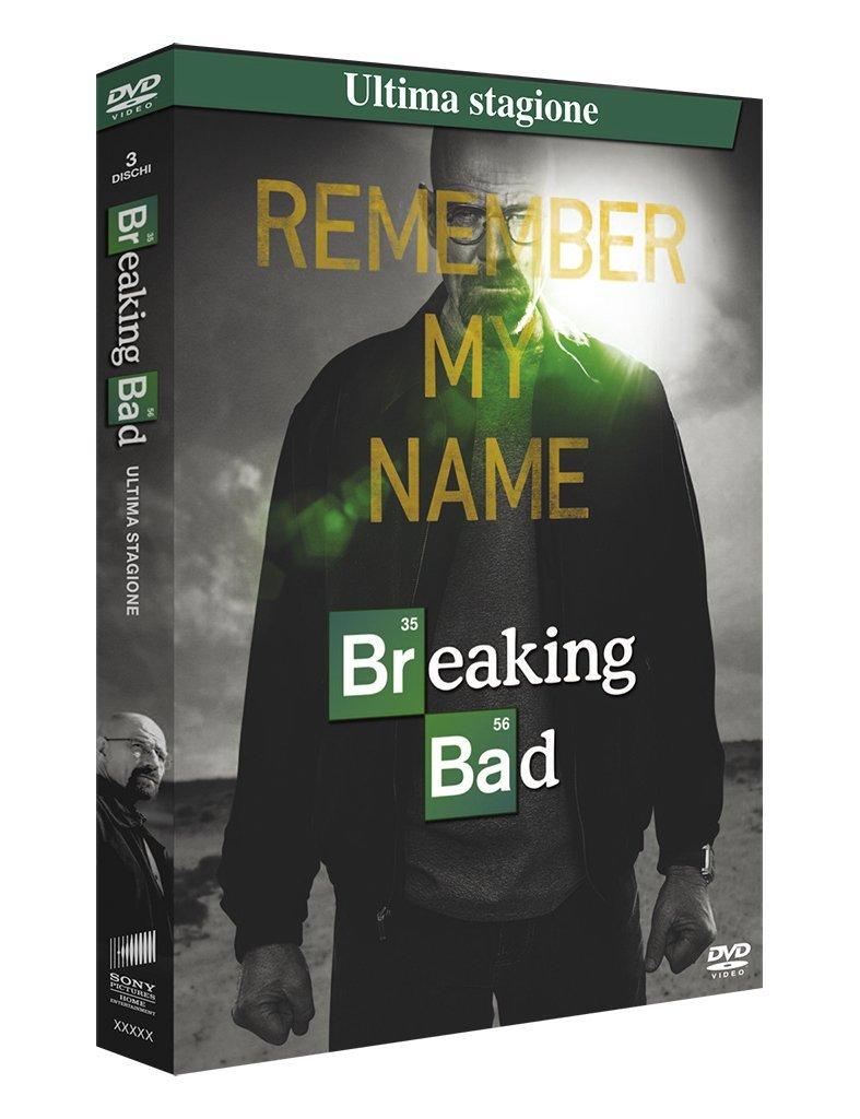 Amazon Com Breaking Bad Season 06 3 Dvd Box Set Dvd Italian Import Dean Norris Paul Aaron Movies Tv